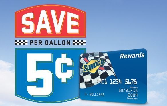 Edgewood Sunoco Fuel Rewards